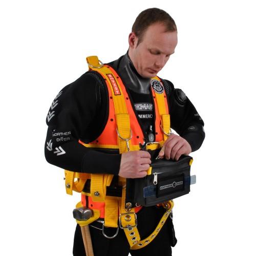 Northern Diver 1000kg R Vest Harness With Hard Mount For
