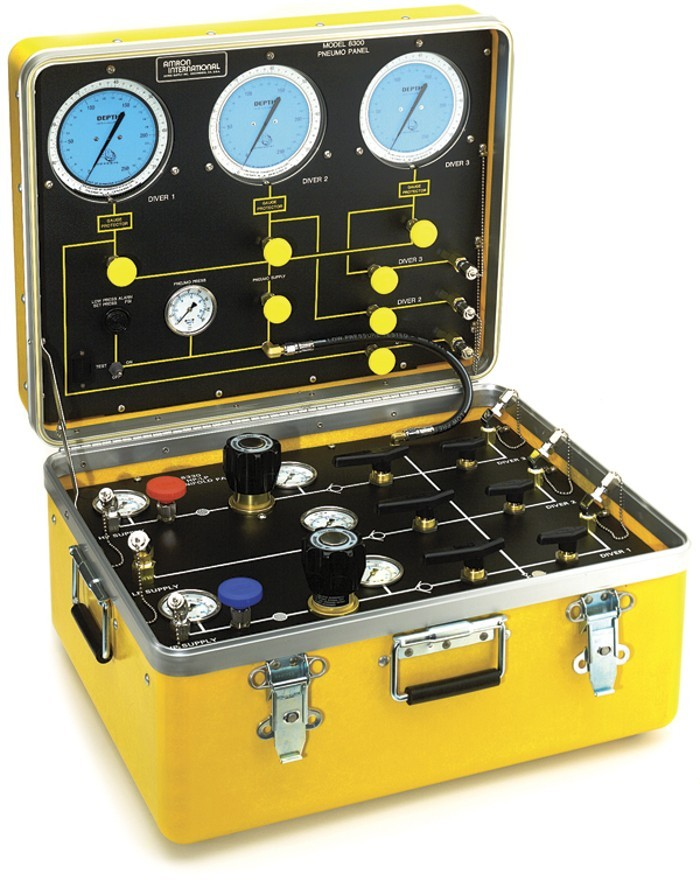 Air control and depth monitoring system for 3 diver 1 - Dive system shop ...