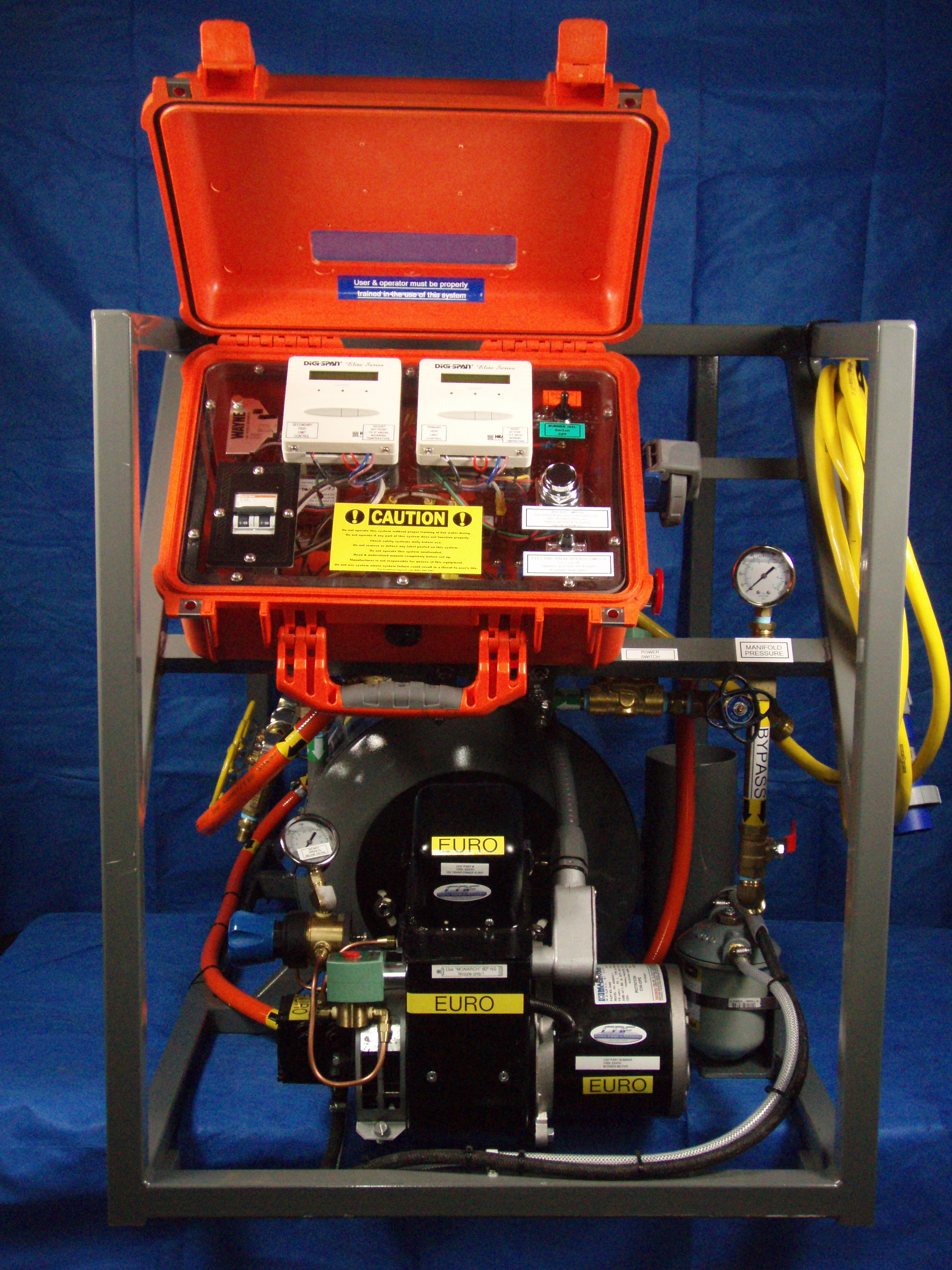 Monkey full spares kit with pelican commercial diving - Dive system shop ...