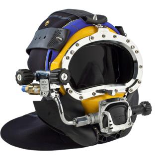 kirby morgan underwater helmet